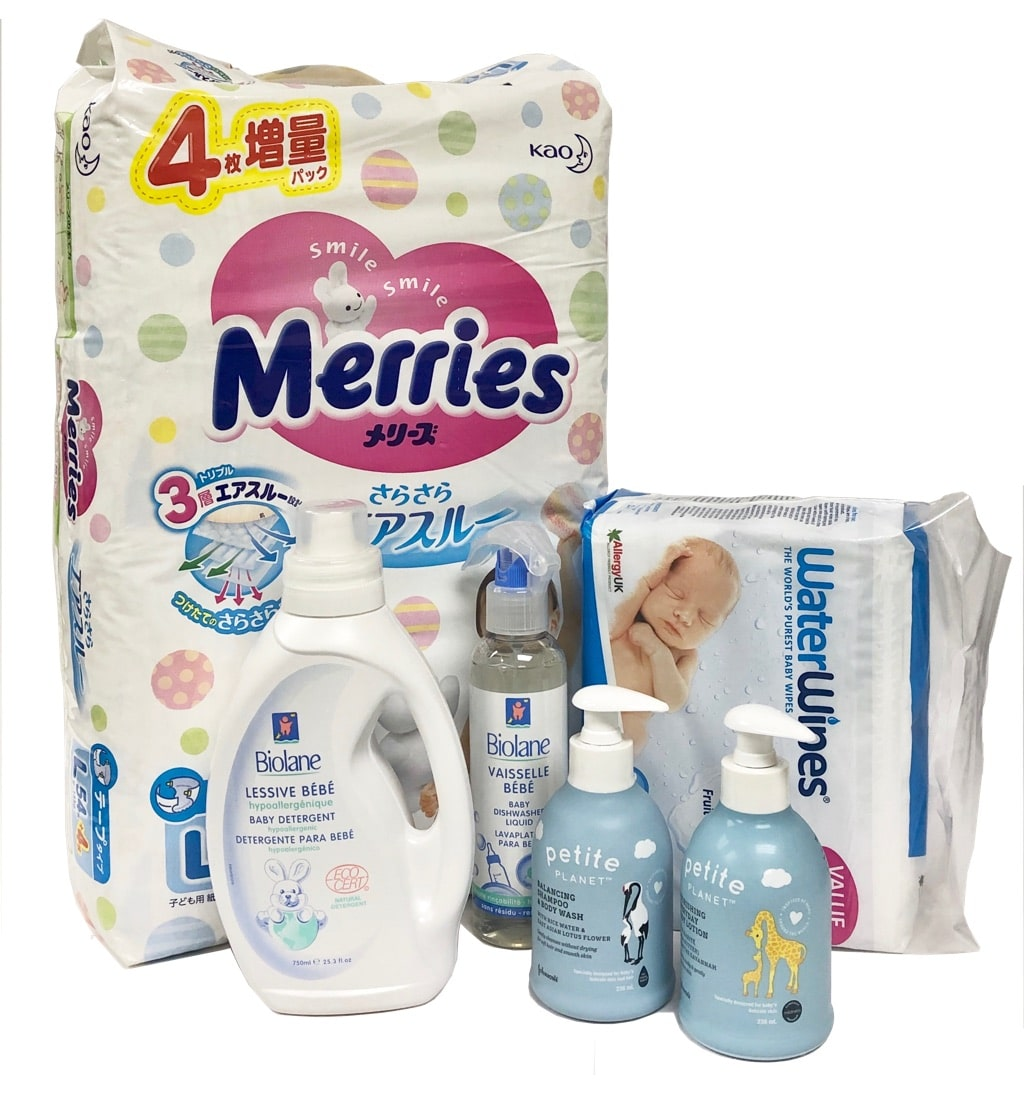 Giggles Baby (4-8 kg) Subscription - Petite Planet