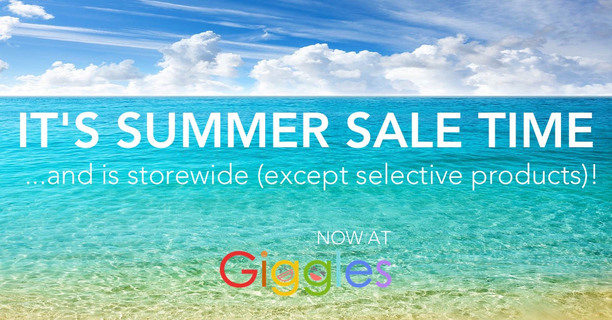 It's Summer Sale Time